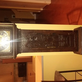 Grandfather Clock 1679