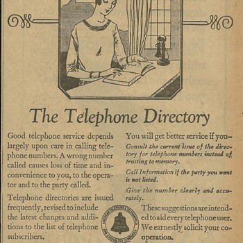 Southern California Telephone - Newspaper Ads - Telephones
