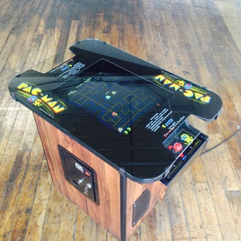 1980 Pac-Man video arcade game