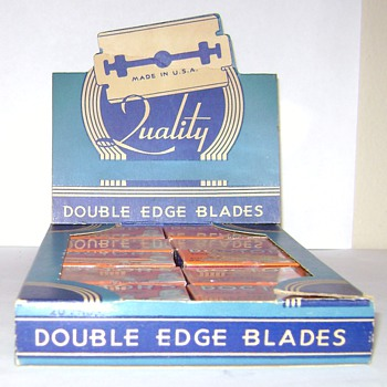 Doctors Double Edged Blades Store Display