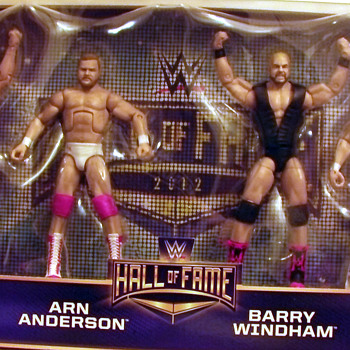 Mattel WWE Hall of Fame 4-Horse Men boxed set
