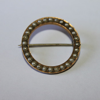 F&B Brooch
