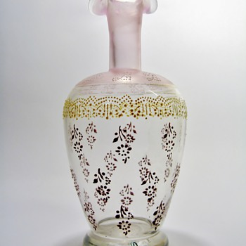 BOHEMIAN DECANTER /C.1900's - Art Glass