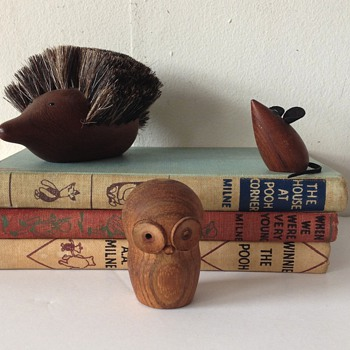 Teak Animal Collection - Mid-Century Modern