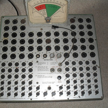 Vintage tube tester