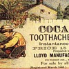 Old Ad For Toothache Drops 