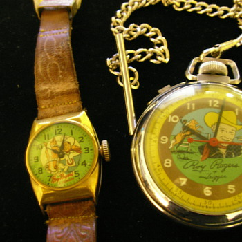 Roy Rogers + Trigger Wrist & Pocket Watches - Pocket Watches