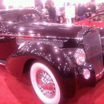 Delahaye at Philly car show.  Art Deco French beauty
