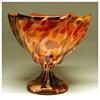 Kralik Pedestal Dish Vase, Circa 1930
