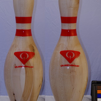 QubicaAMF Novelty Clear Cover Bowling Pin - Sporting Goods