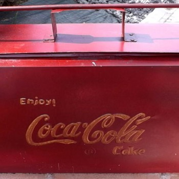 Coca cola cooler from india