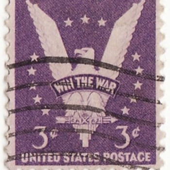 The Win the War stamp  - Stamps