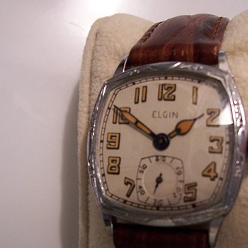 Art Deco Elgin Mens Watch - Wristwatches