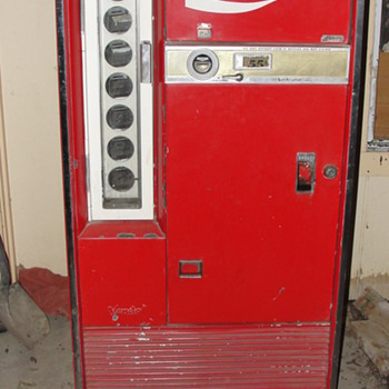 vendo coca cola machine - Coca-Cola