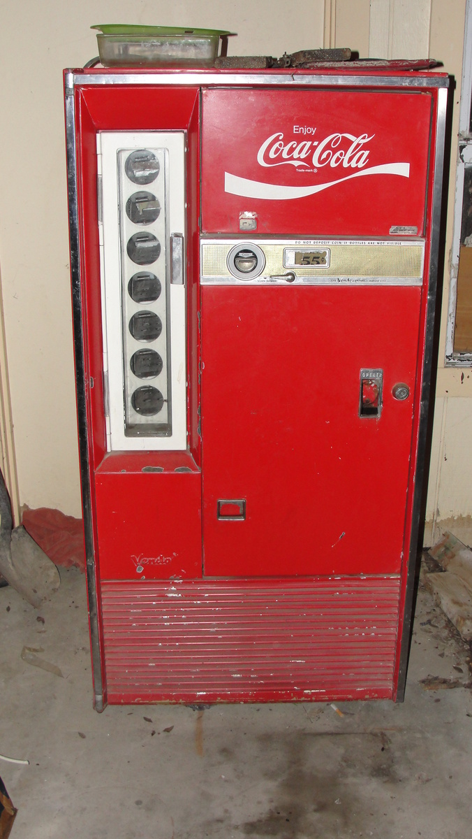 vendo coca cola machine : Collectors Weekly