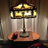 Miller Slag Glass Lamp