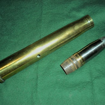 40 MM  brass and projectile