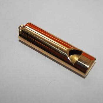 Gold Whistle  - Fine Jewelry