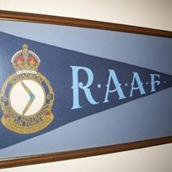 R.A.A.F. WW2 Pennant