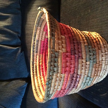Multicolor Indian basket