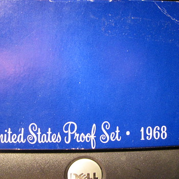 Proof Set 1968 - US Coins