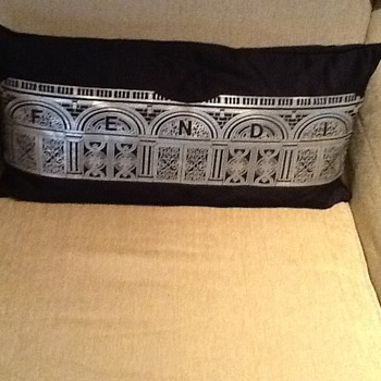 Long Fendi Pillow