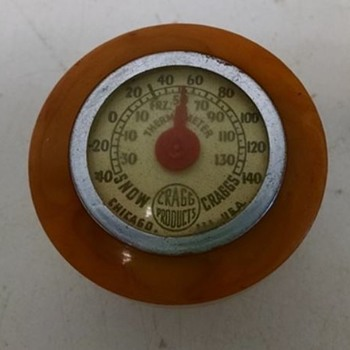 Suicide Knob Thermometer Bakelite? - Classic Cars