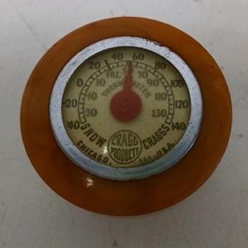 Suicide Knob Thermometer Bakelite?