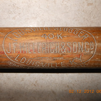 Louisville Slugger 40 K Kork Grip Bat