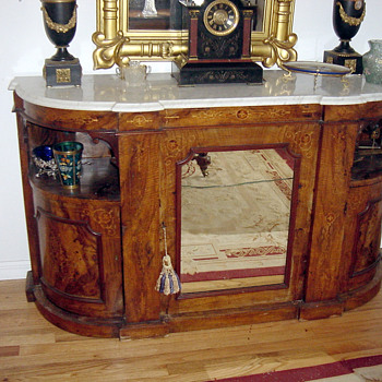 Antique 1880's Renaissance Revival Chiffonier - Furniture