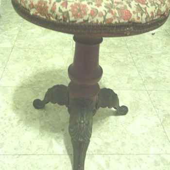Piano/Music Stool Victorian?