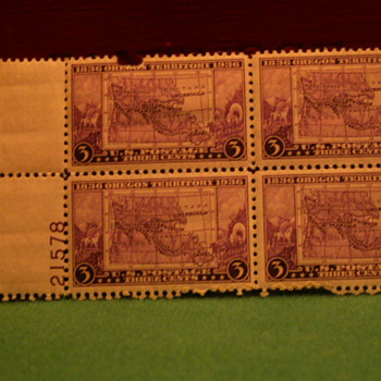 1936 Oregon Territory 3 Cents Stamps - Stamps