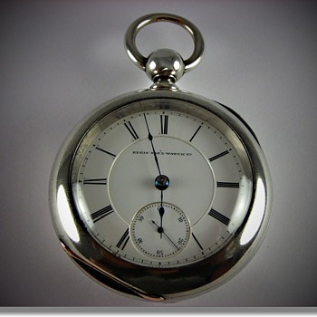 Antique Elgin B.W Raymond Rail Road Grade Pocket Watch - Pocket Watches
