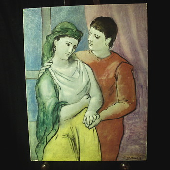 "Pablo Picasso's""Lovers""1923 - Visual Art"