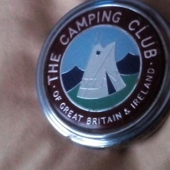 THE CAMPING CLUB OF GREAT BRITAIN & IRELAND - Car Badge