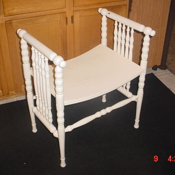 Wisconsin Chair Company Bench