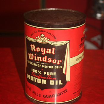 royal windsor oil can