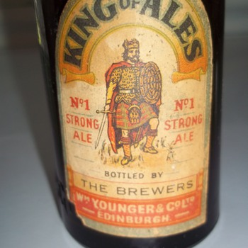 King of Ales Beer Bottle - Bottles