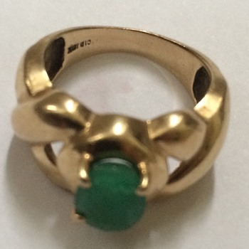 Gold And Emerald Ring - Fine Jewelry