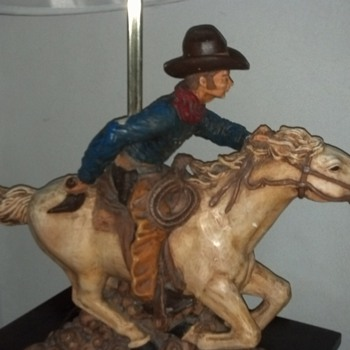cowboy lamp