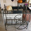 Antique (I believe) Wine Rack - Cart Style - Need Info