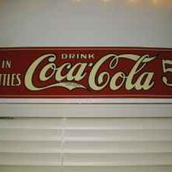 1922 Coca Cola Sign? CCK