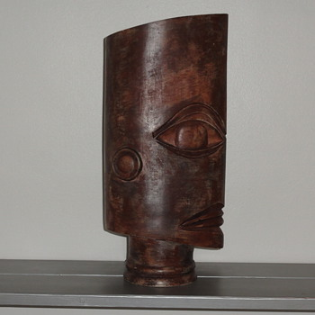 mask vase - Art Pottery