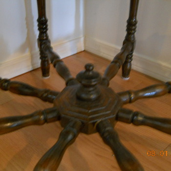 Octagonal Table - Furniture