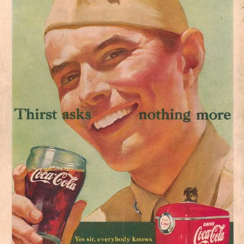 1951 - Coca Cola Advertisement