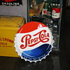 pepsi cola porcelain sign