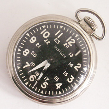 Westclox Military Style - Pocket Watches