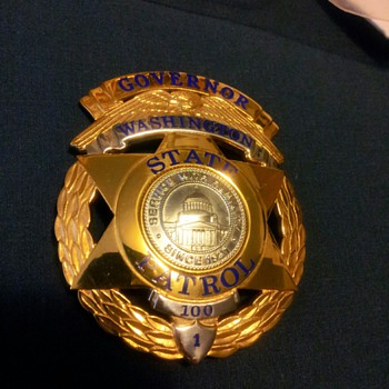 WSP 100th Class Anniversary Badge - Medals Pins and Badges
