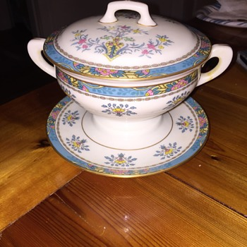 Unknown Lenox Blue Tree? - China and Dinnerware
