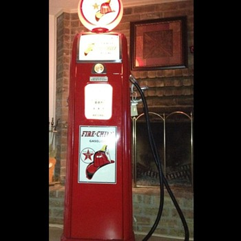 Original Fire Chief Gas Pump